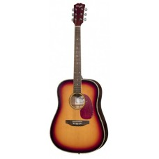 Folk guitar 6-string Dreadnought Sunburst/ Tobaco