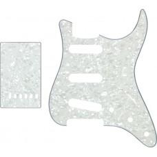 pick guard 3SC+back plate pearl