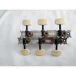 Machineheads classical guitar  SEV  C01BW-basic model Ivory button