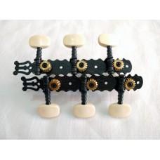 Machineheads classical guitar SEV CL-BK01BI Ivory button