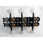 Machineheads classical guitar  SEV CL-BK01BP pearloid button