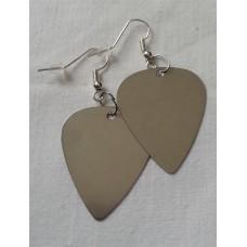 EarPick earrings stainless steel pick pendant