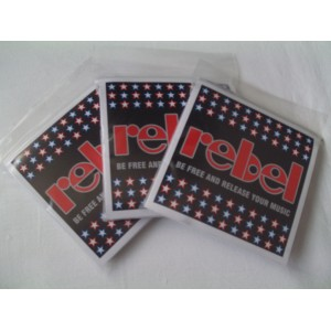 Rebel strings električne nickel MEDIUM