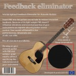 Sever FBE- Feedback Eliminator acoustic guitar