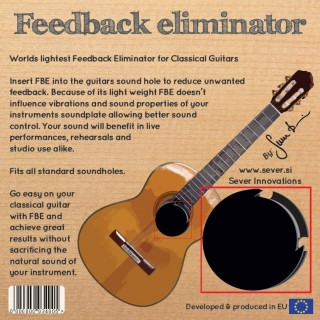 Sever FBE- Feedback Eliminator classic guitar