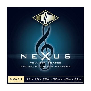 Rotosound folk strings NEXUS 11-52 NXA11 phosphor bronze