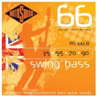 Rotosound bass strings 35-90 RS66LB