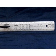 SUMMIT® Luthier straightedge/ruler 60cm with handle