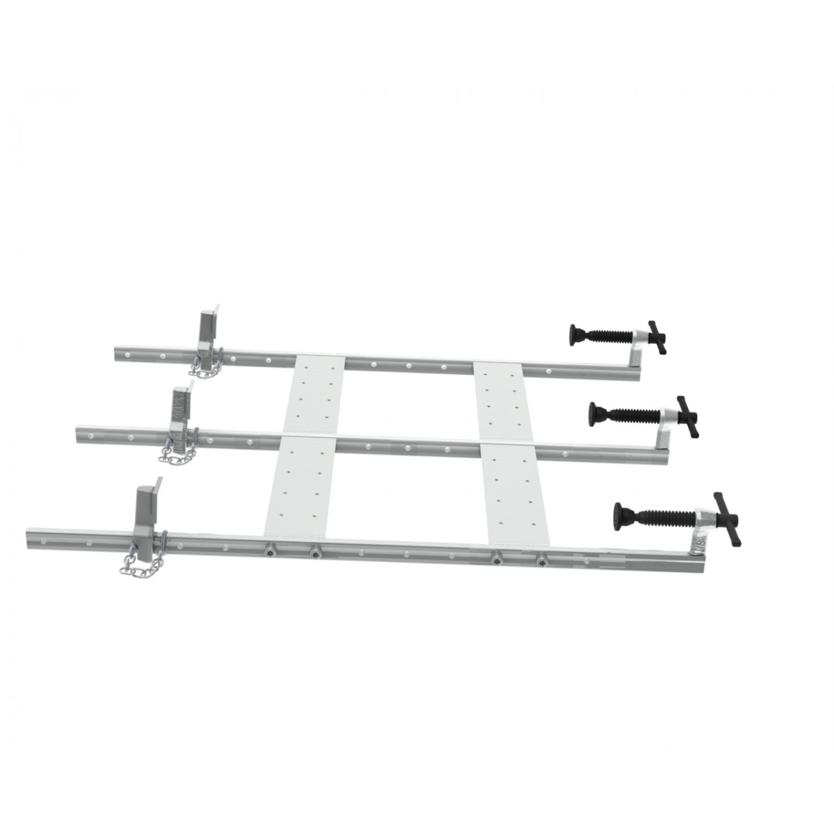 SUMMIT® set of professional gluing clamps - low profile