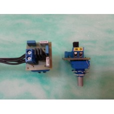 Sever potentiometer Tone B, 250 kOhm adjustable capacitor values=TC