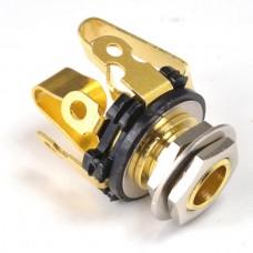 Jack Socket Gold Stereo JSBS professional