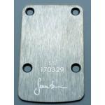 Sever Neck Pressure Plate Stainless Steel Satin finish