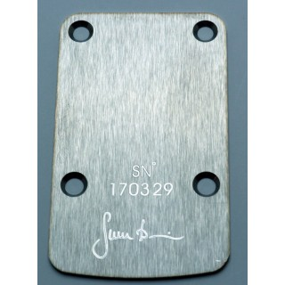 Sever Neck Pressure Plate S.Steel Satin finish