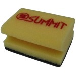 SUMMIT® abrasive-polishing foam pad Black R=Rough
