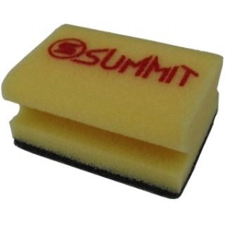 SUMMIT® abrasive-polishing foam pad Black R=Rough