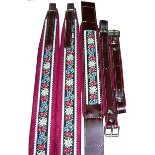 Belts & bass belt set for diatonic accordion