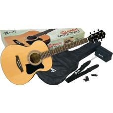 Folk guitar Ibanez V50NJP-NT pack