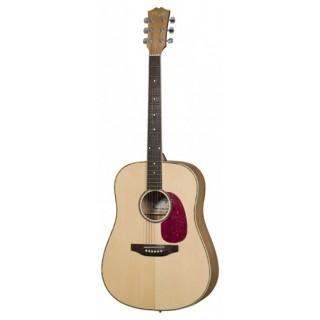 Folk guitar 6-string Dreadnought natural