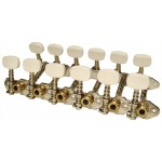 machineheads folk guitar 12str. SEV F12-01BOW white button