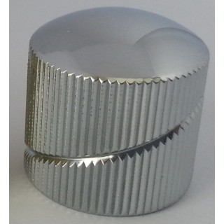 Sever pot knob CR dome_I_knurled spiral