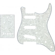pick guard 3SC+back plate pearl